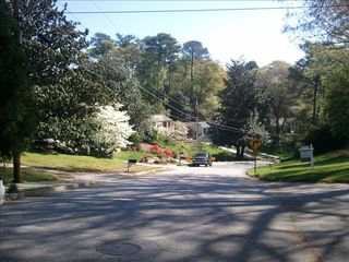 Atlanta house photo - Wooded subdivision.