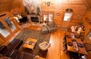 Blue Ridge cabin photo - View From Above