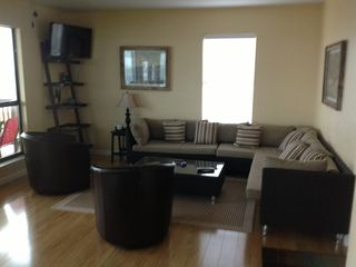 Inviting living area, with satelite TV, and WiFi.
