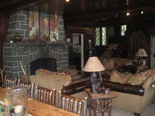 Lake Placid house photo - Living Room