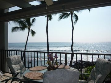 Kailua Kona condo rental - qAfternoon View from the Lanai!