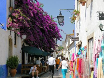 One of the streets in Obidos