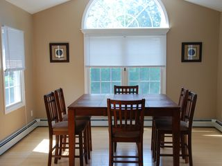 Narragansett Pier house photo - Dining room. Setas 10 - 4 additional chairs at kitchen counter.
