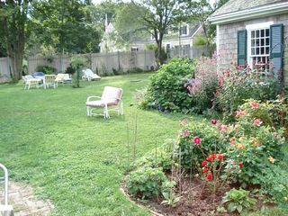Yarmouth townhome photo - part of Garden and garage