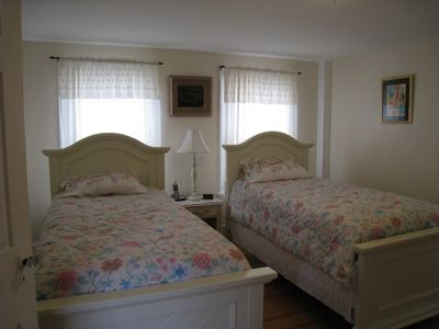 Rockport house rental - Twin beds - Second floor