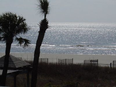 Direct Oceanfront view from private balcony, watch the morning dolphins swim!