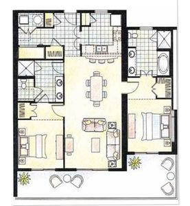 Windsong unit floor plan