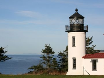Admiralty Light House in Fort Casey State Park two miles from home.