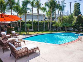 Anaheim house photo - Large yard with heated private pool