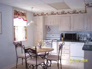 Mount Airy apartment photo - Cheery, bright, modern gourmet kitchen, ceramic tile floor