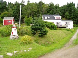 Ingonish cottage photo - A quiet cottage on the hill offers lots of privacy with great views.