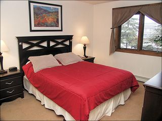 Steamboat Springs condo photo - Master - Queen, Nice Matching Bedroom Furniture