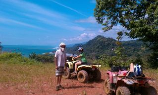 Dominical villa photo - .Quad excursions to waterfalls, ocean view vistas, wildlife and more
