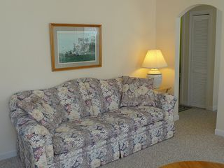 "Dennisport house photo - Comfortable & chaming Living Room has a new 32"" flat screen with Direct TV."