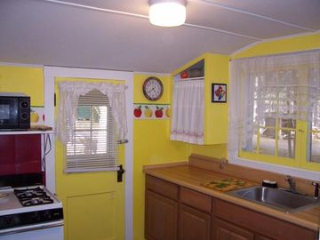 Charming Kitchen- Very User Friendly with Gas Range and plenty of Counter Space.