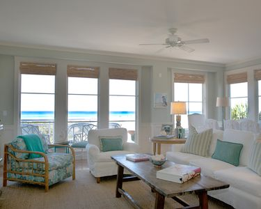 Living Room with panoramic views of the Gulf of Mexico