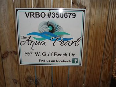 Enjoy your visit to the Aqua Pearl located at 557 West Gulf Beach