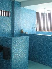 Puerto Escondido house photo - Master bath with spectacular, custom tile work
