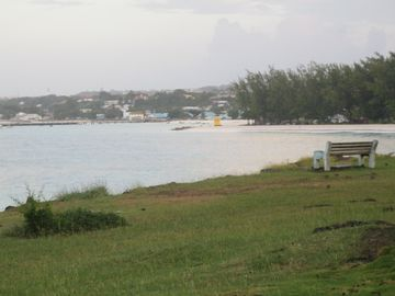 View across Oistins bay
