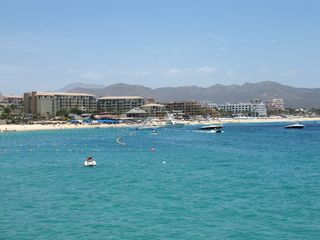 Cabo San Lucas condo photo - Medano Beach is just a water taxi away.