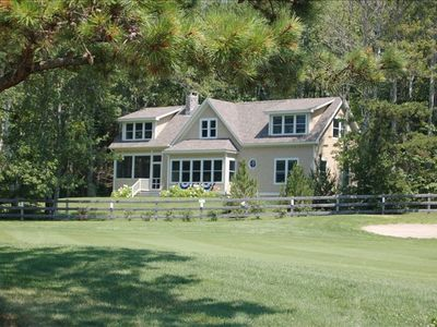View of house from golf course