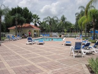 Emerald Island townhome photo - Our nearest pool and jaccuzzi located across the street
