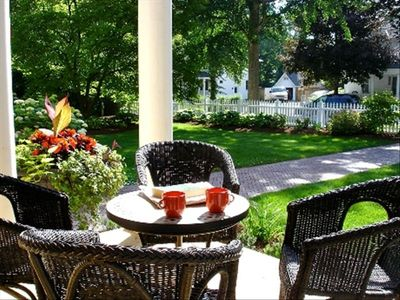Coffee on the front porch on a sunny morning?