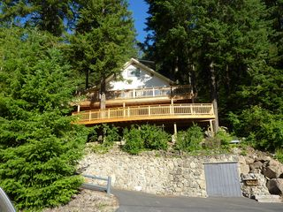 Coeur d 'Alene house photo - New 32 foot lower deck June 2011!!!!!