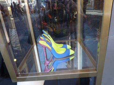 Eye-catching window displays