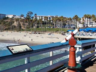 San Clemente condo photo - San Clemente Boardwalk with Resort in Background in San Clemente, California