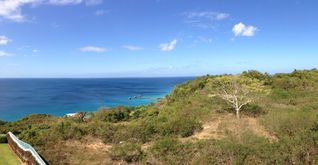 Aguadilla condo photo - View from the balcony.