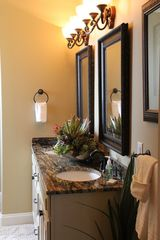 Crystal Beach house photo - Master Bath Vanity
