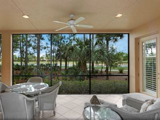 Bonita Springs apartment photo - Luxury Lloyd Loom furniture in the Lanai
