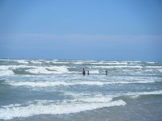 North Padre Island condo photo - Whitecap Beach - 1 Block from Condo