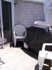 Provincetown condo photo - Deck with gas grill