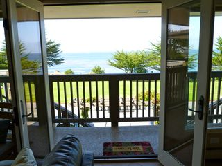 Pacific Grove condo photo - Doors open to the patio and ocean breeze