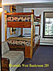 Silverthorne house photo - Family room with bunk beds