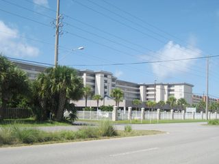 Fort Walton Beach condo photo - Entry to Island Princess from Santa Rosa Blvd