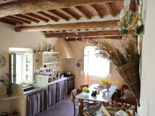 Lucca villa photo - The Kitchen from Another Point of View