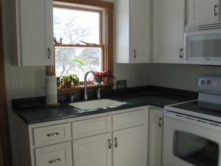 Lubec house photo - Pleasant Kitchen area