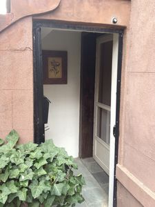Private Entrance to Garden Apartment