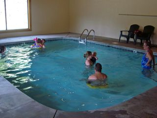 Pigeon Forge cabin photo - Indoor Pool - Open All Year