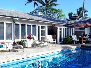 Kailua house photo - White sand, crystal clear beach and privacy of Kailua are in our backyard