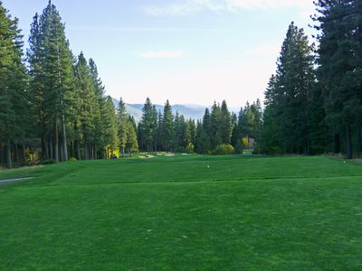 Seventh hole, Incline's Championship Course....5 minute drive!