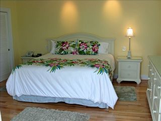 Virginia Beach house photo - North Bedroom Suite w/Private Ocean View Balcony-HD TV/DVD