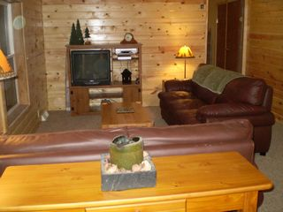 Birchwood cabin photo - Relaxing in the living room