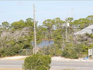 Cape San Blas house photo - St. Joseph's Bay across the street