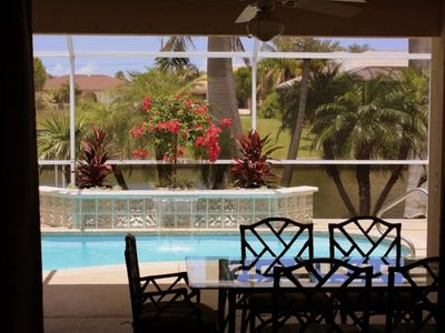 Cape Coral villa rental - Inviting View from Your Formal Living Room, What an Entry!