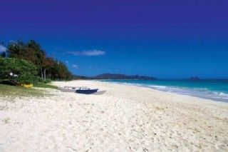 Bellows Beach Waimanalo house rental - Very Private and Safe Beach for all ages