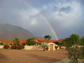 Borrego Springs estate rental - Follow this Desert Rainbow to Your Perfect Vacation at Hacienda La Verbena!